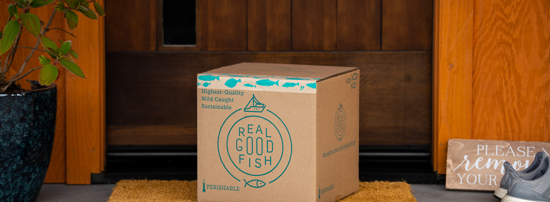 Introducing Real Good Fish Home Delivery